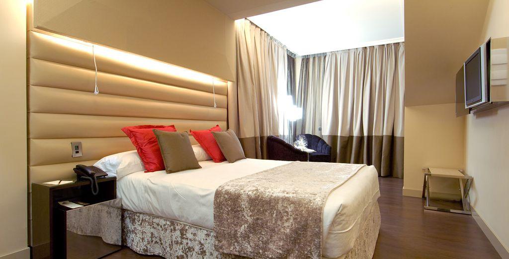 Prenez place dans votre chambre Standard... - Hôtel Vincci Capitol 4* Madrid