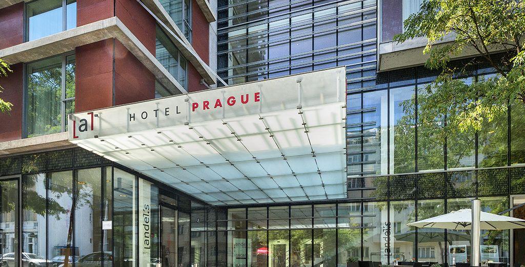 Installez-vous à l'Andel's by Vienna House Prague 4*
