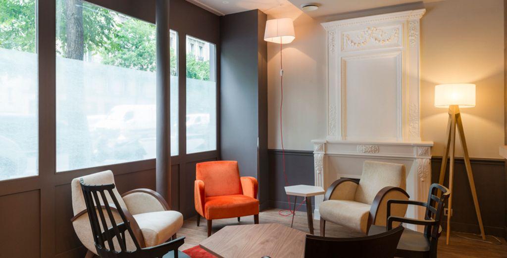 Cet hôtel intimiste est le point de départ idéal pour vos aventures parisiennes