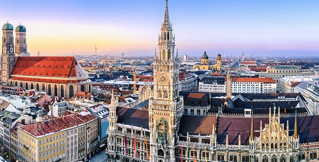 A moins d'une heure de Munich...