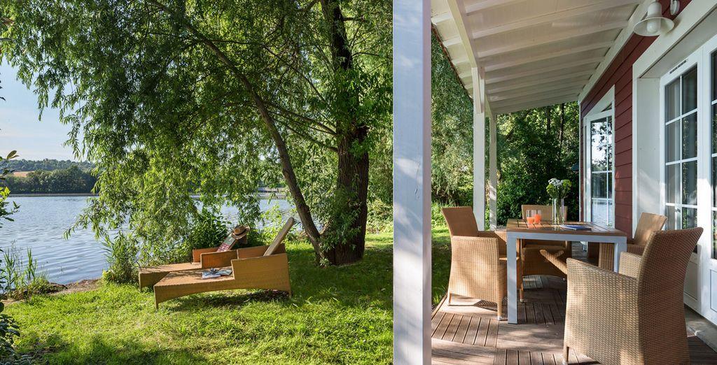 Ou l'évasion du cottage Premium ou Premium Nouveau Design Bord de Lac !