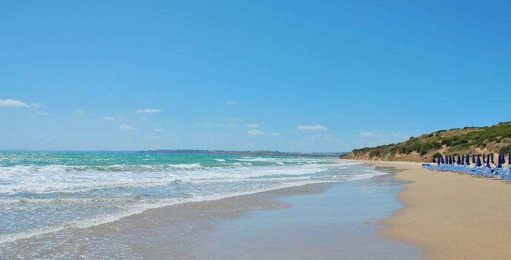 Avec plage privée
