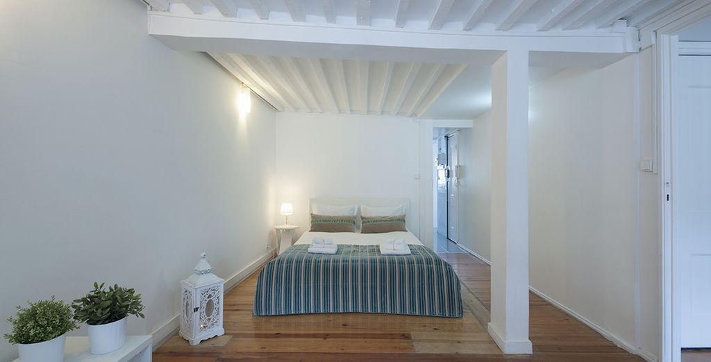 Une chambre des plus spacieuses