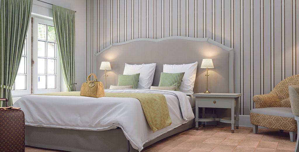 Hôtel de luxe 4 étoiles avec chambre double tout confort et spacieuse, Toulouse