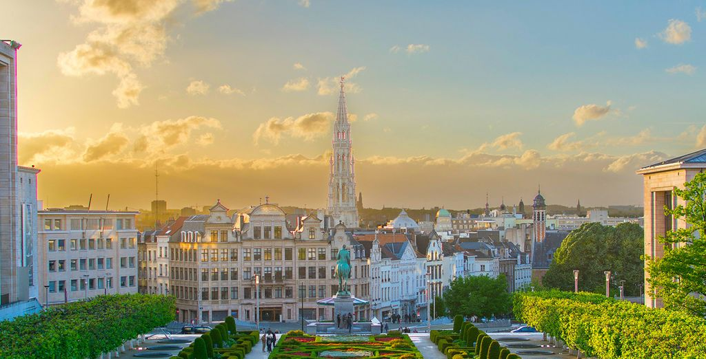 Photographie de la capitale de l'Europe, Bruxelles en Belgique