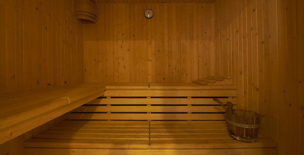 Le sauna ou encore la piscine sur le toit !