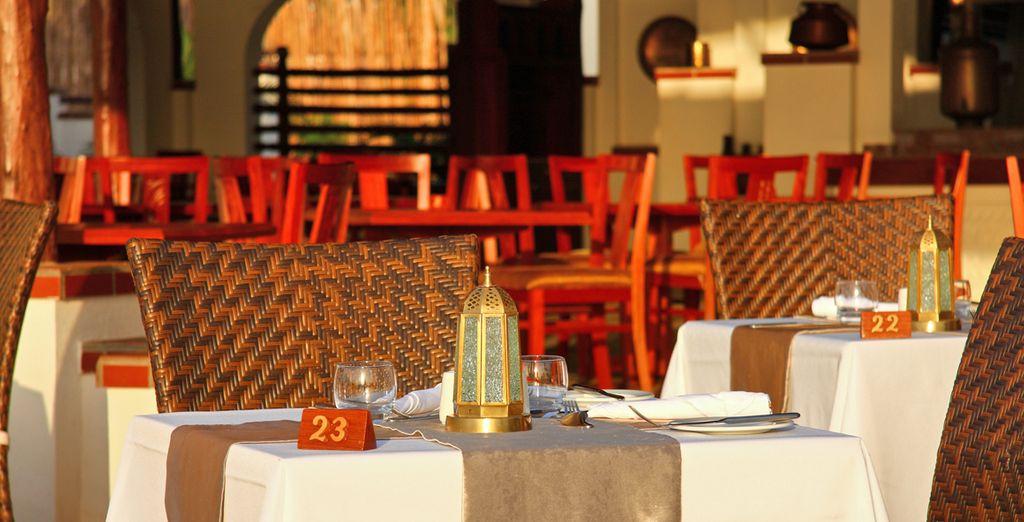 Savourez la cuisine locale et internationale du restaurant