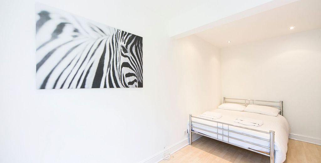 Appartement 3 : La première chambre