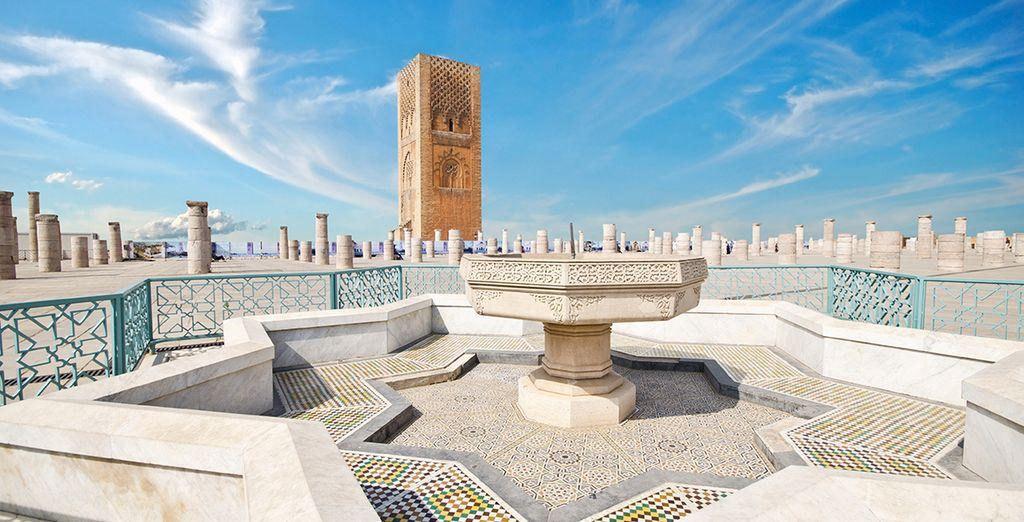 Vous commencerez par la ville de Rabat