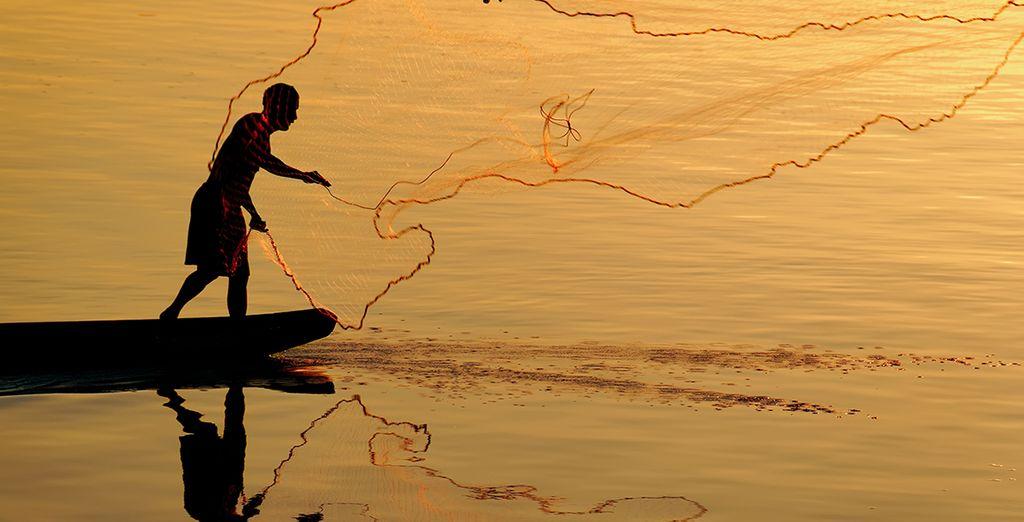 Vous garderez des souvenirs inoubliables de la majestueuse rivière Mékong, la «mère des eaux»