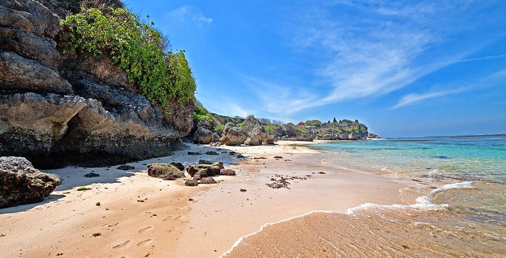 Sur place alliez eaux turquoise des plages paradisiaques