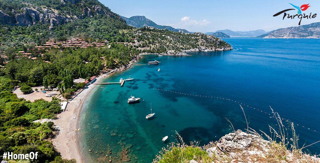 Laissez-vous séduire par la côte turque - Hôtel Grand Ideal Premium Sunconnect 5* Marmaris