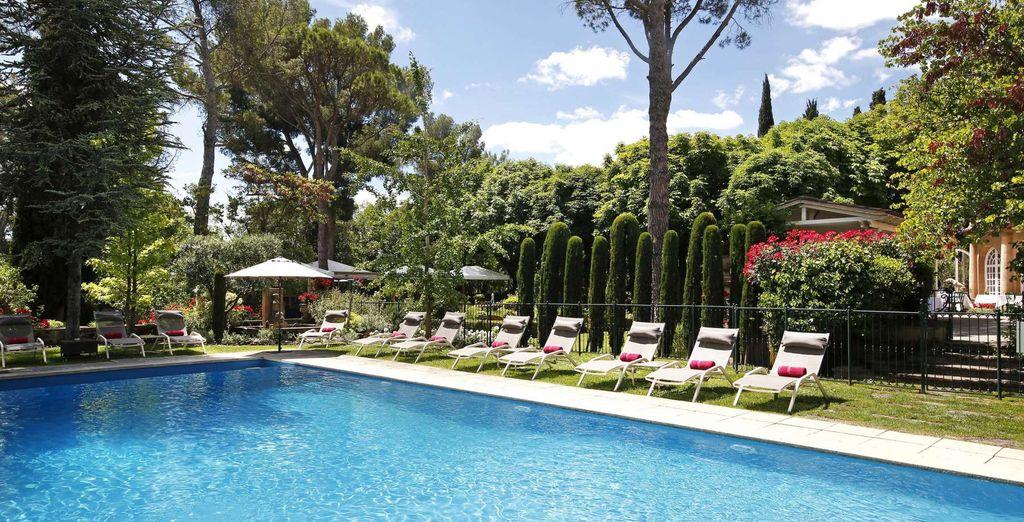 Hôtel Le Pigonnet 5* avec piscine