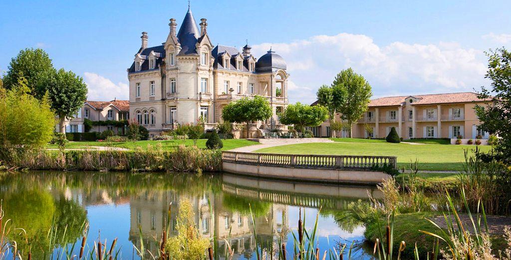 Envie de mener une vie de château l'espace de quelques jours ?