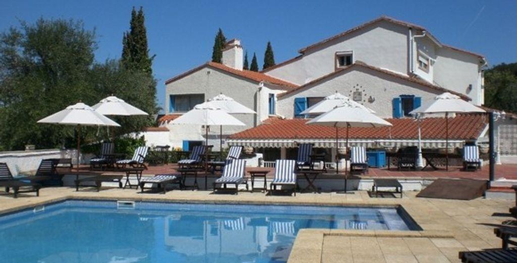 L'hôtel - Hôtel La Terrasse au Soleil - Ceret - France Céret