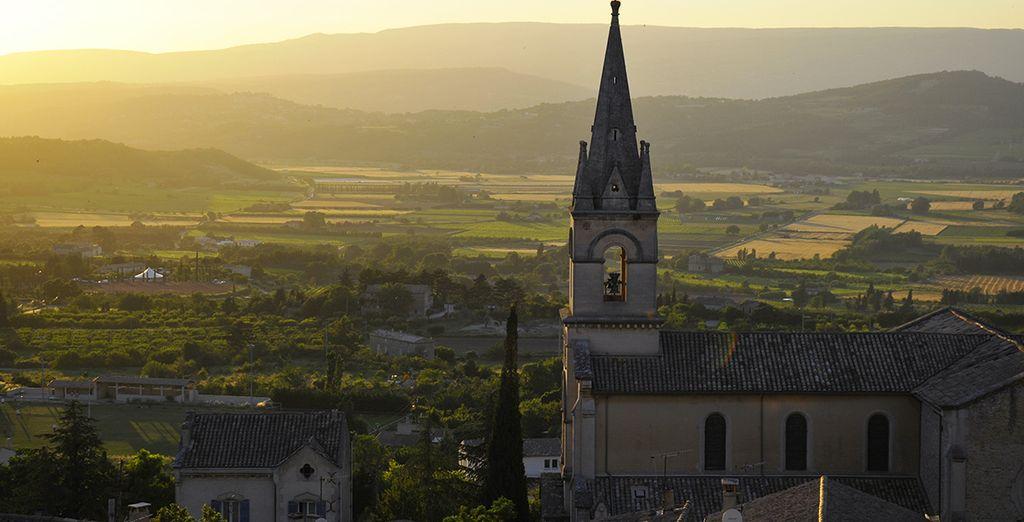 Avant d'aller visiter Bonnieux, l'un des plus beaux villages de France