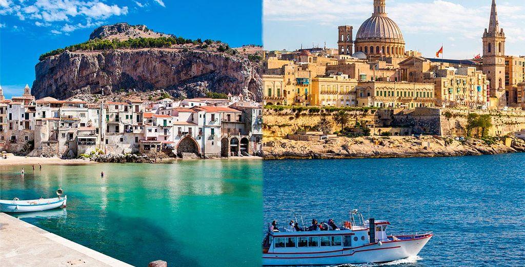 Combin sicile et malte voyage priv jusqu 39 70 for Sejour complet malte