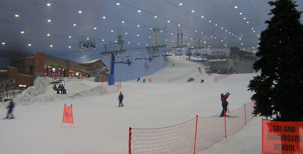 Avec en prime, la piste de ski du Mall of the Emirates !