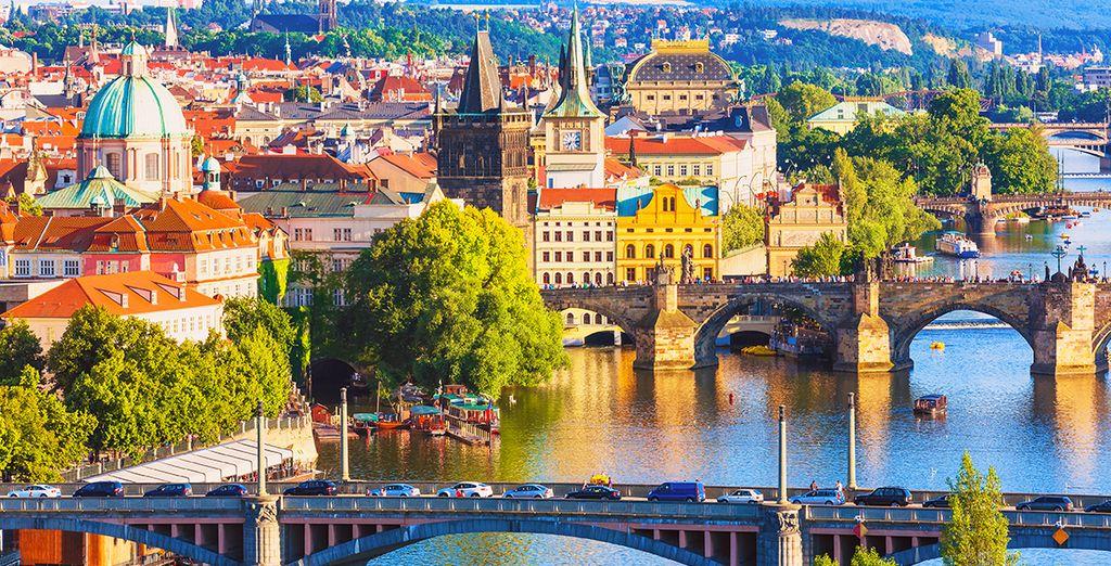 Posez vos valises à Prague