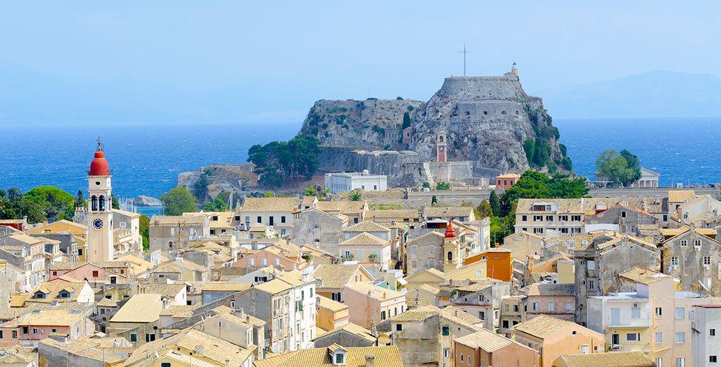 Puis prendrez la direction de la Grèce avec une première escale à Corfou