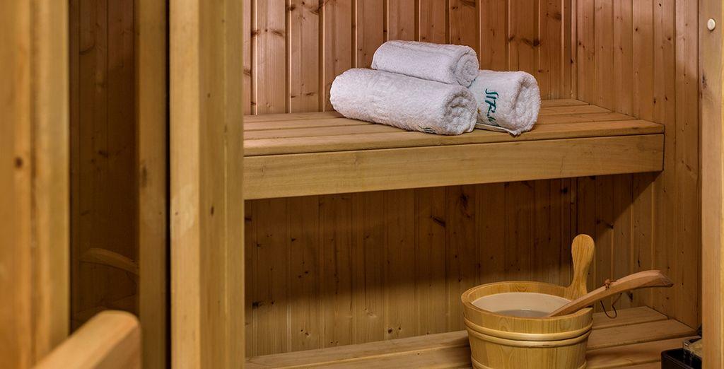 Délassez-vous au sauna ou au hammam