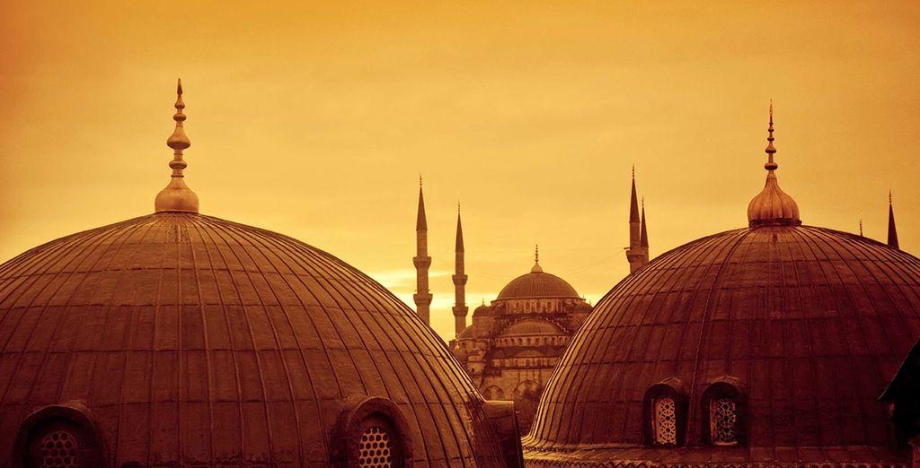 De retour dans la magie d'Istanbul pour 2 nuits...