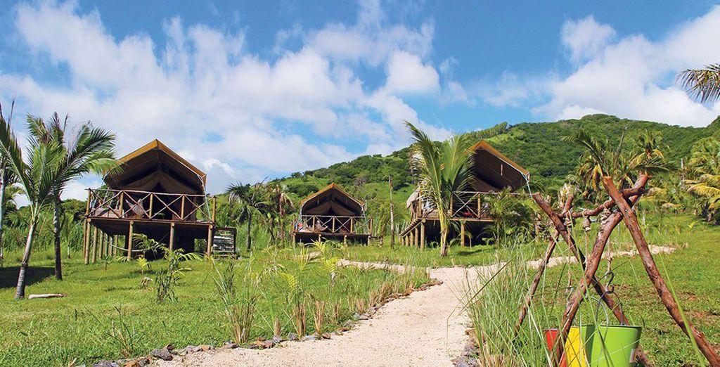 Pour vous installer durant 2 nuits à l'Otentic Eco Tent Experience