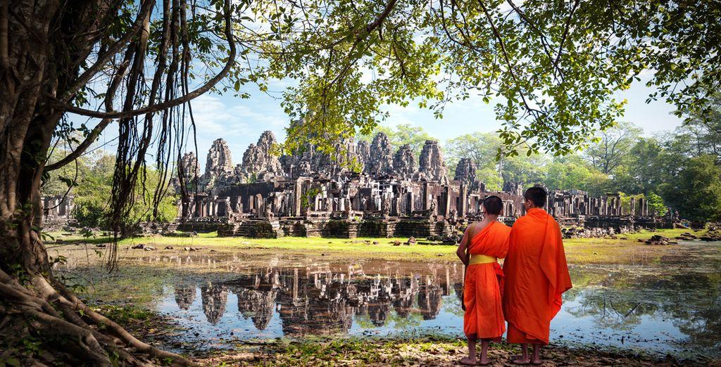 Pour découvrir les fabuleux temples d'Angkor