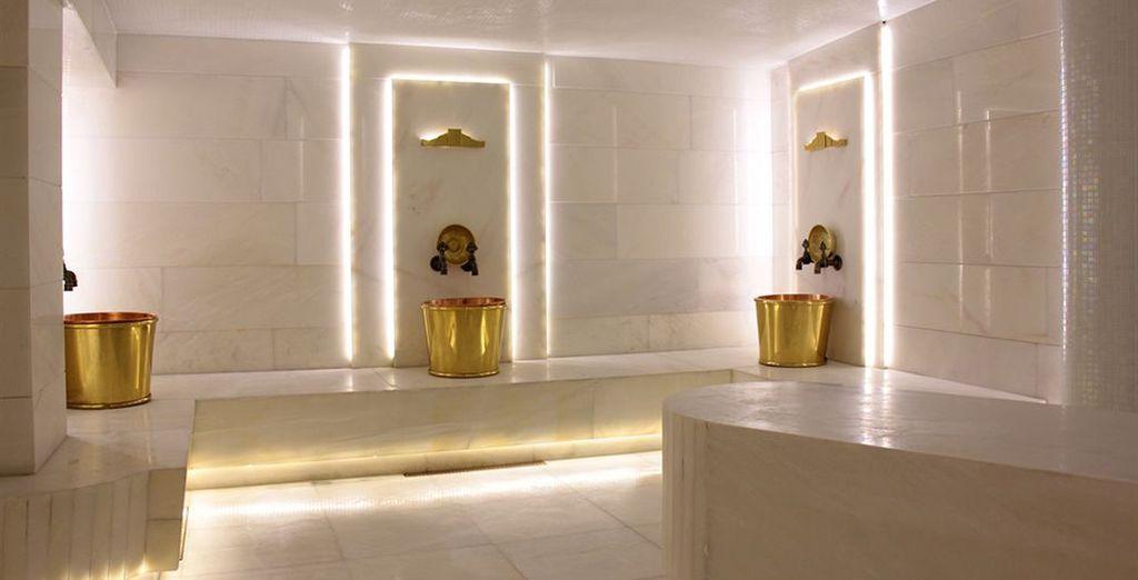 Des bains d'eau Thermale vous attendentà Bursa...