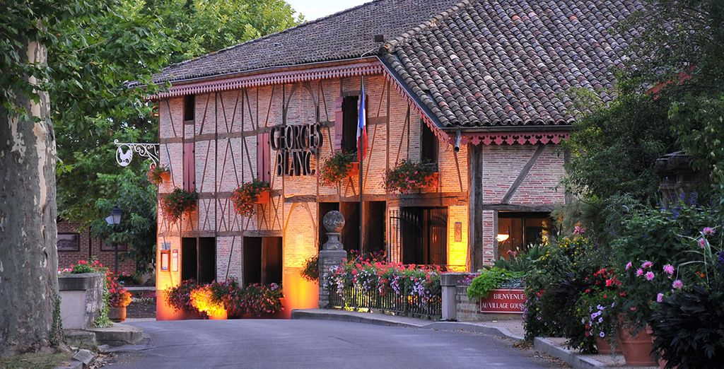 Au Relais et Châteaux Georges Blanc Parc & Spa