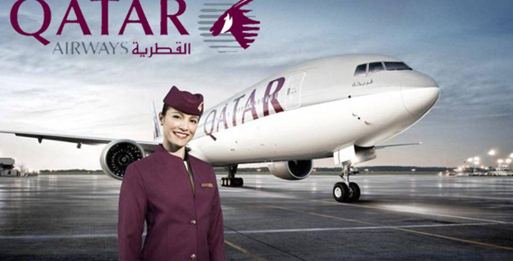 La compagnie Qatar Airways