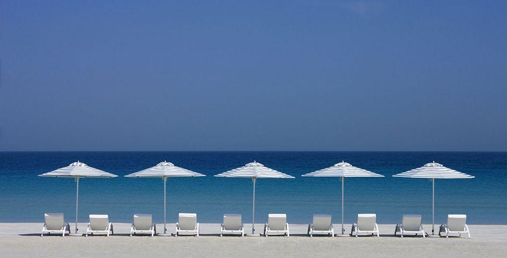 Une destination entre plage - Hôtel Millennium Corniche 5* Abu Dhabi