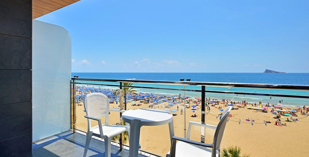 Et profiterez d'une superbe vue sur la Méditerranée dès votre réveil