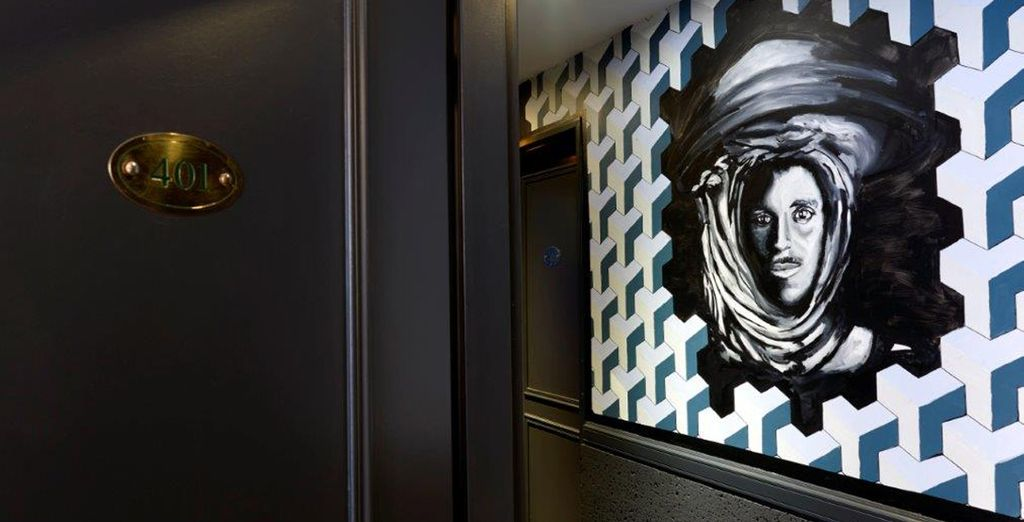L'Hotel Gaston è un'opera d'arte contemporanea