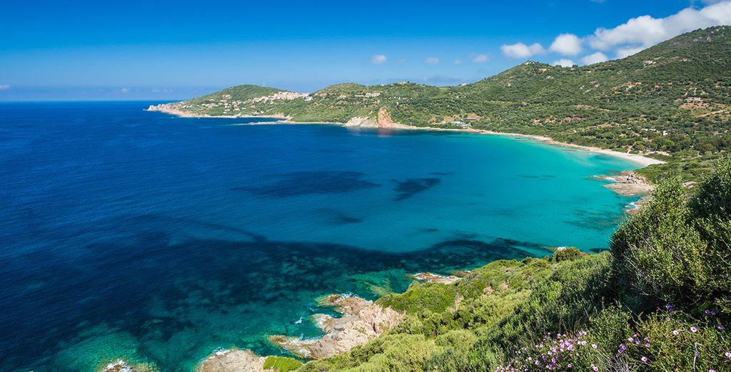Immerso nella splendida natura della Corsica