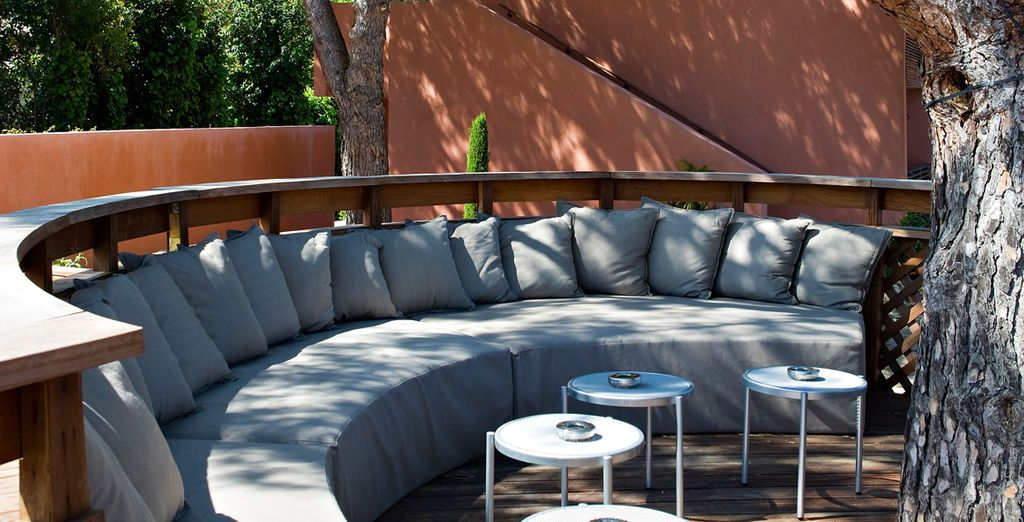 un luogo elegante, raccolto, ideale per il relax.