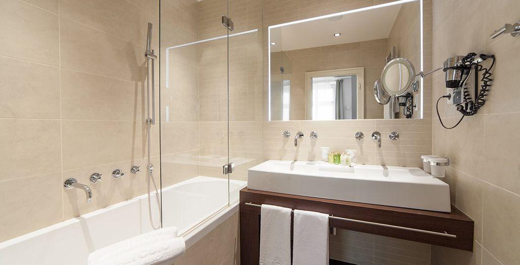 Moderne e dotate di tutti i comfort, queste Suite sono prote a sorprendervi