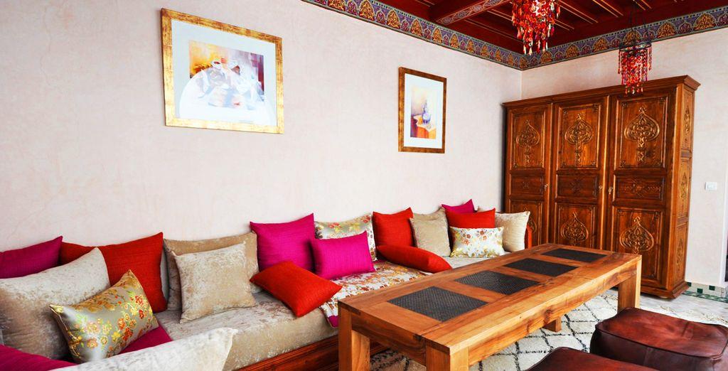 Splendida struttura dai tipici ambienti marocchini