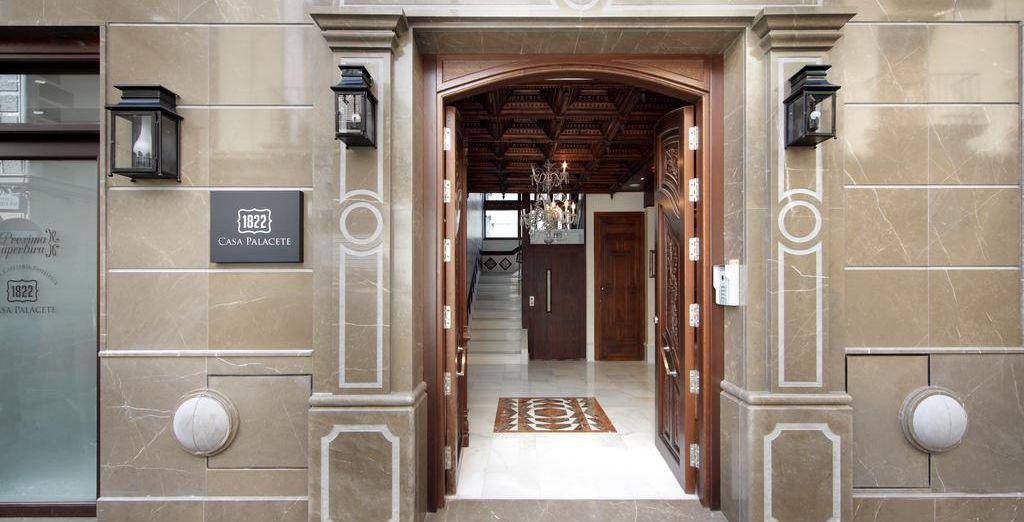 Casa Palacete 1822 è pronto ad accogliervi