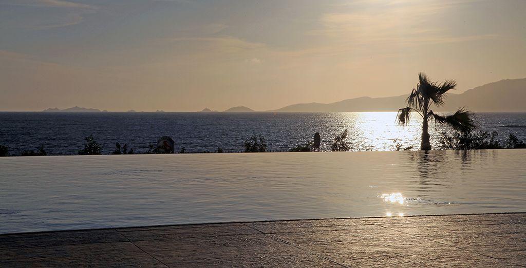 Ammirate un romantico tramonto vista mare...