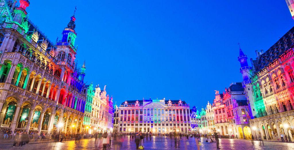 O forse preferite recarvi nella colorata Bruxelles