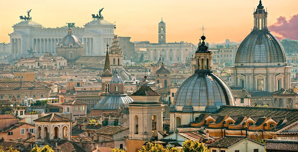 Scoprite le bellezze di Roma,