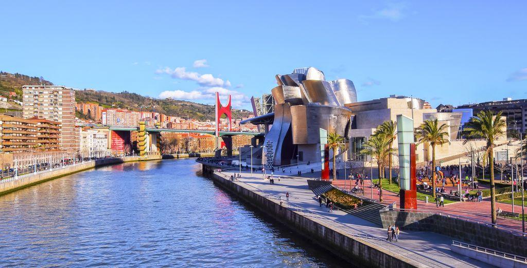 Benvenuti a Bilbao, incantevole località nel cuore dei Paesi Baschi