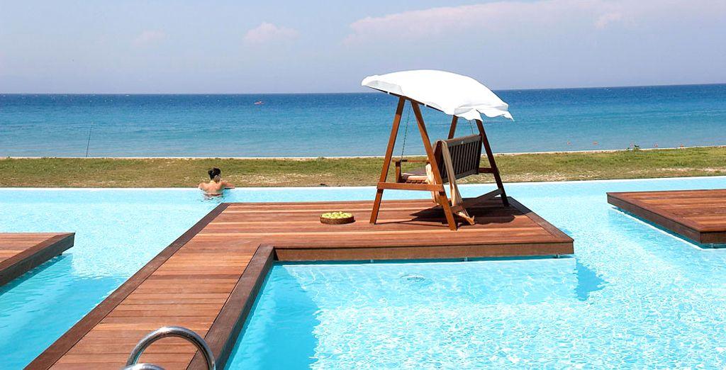 Ixian all suites by sentido 5 adults only voyage priv - Hotel con piscina privata grecia ...