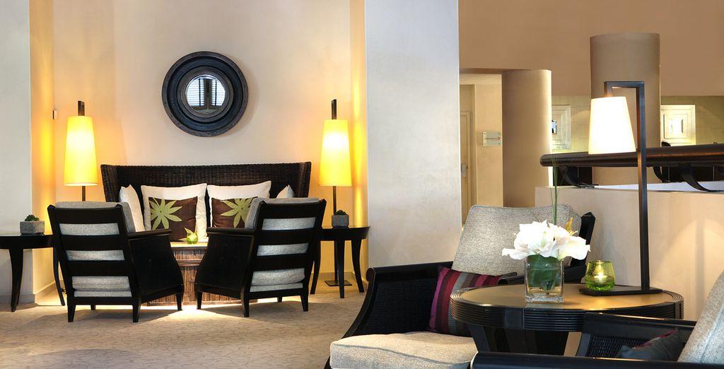 Un hotel di design e tradizionale