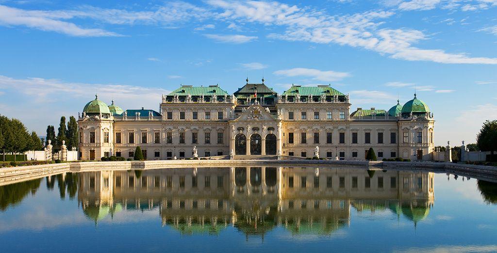 A pochi passi dal famoso castello del Belvedere