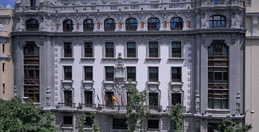 l'Hotel NH Collection Madrid Abascal 4* vi attende