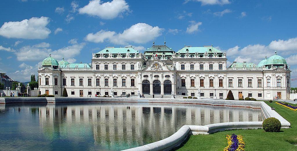 Sarete a poca distanza dal grandioso castello del Belvedere