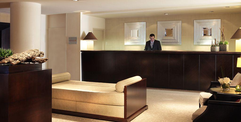 Accomodatevi presso l'Hotel Columbus ...