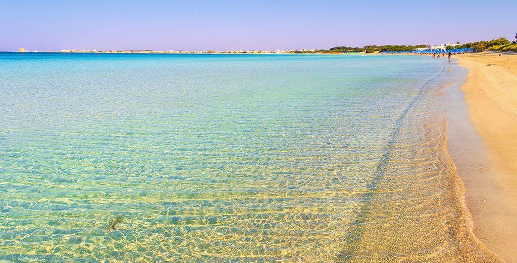 E le splendide spiagge del Salento